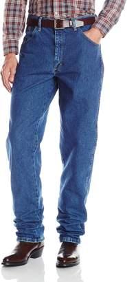 Wrangler George Strait Men's Cowboy Cut Jean, Relaxed Fit, Heavyweight Denim,34X34
