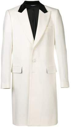 Dolce & Gabbana tailored single breasted coat