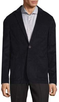 Saks Fifth Avenue Pinwale Cord Cotton Jacket