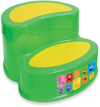 Sesame Street Ginsey ' 2-tier Step Stool by Ginsey