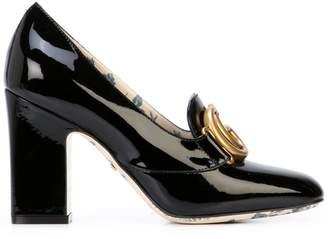 42bcdc854 Gucci Block Heel Pumps - ShopStyle