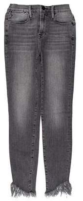 Frame Le High Skinny Mid-Rise Jeans