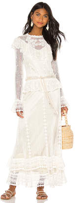 Zimmermann Allia Crochet Maxi Dress