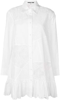 McQ cut out shirt dress