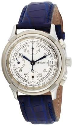 Momentum Men's 1M-CD90S7 Valjoux Automatic Blue Alligator Strap Watch