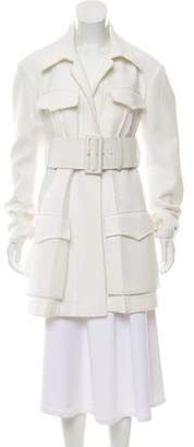 Celine Belted Short Coat
