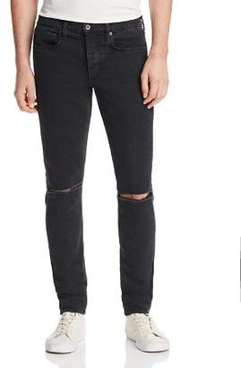 Rag & Bone Fit 1 Super Slim Fit Distressed Jeans in Shelter