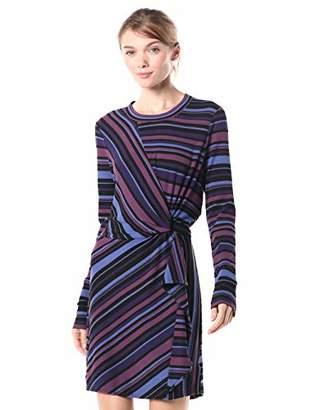 Parker Women's Kade Long Sleeve Knotted Waist Dress