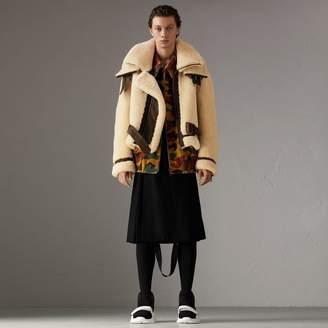 Burberry Ramie-cotton Reversible Harrington Jacket