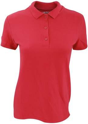Gildan Womens/Ladies Premium Cotton Sport Double Pique Polo Shirt (XL)