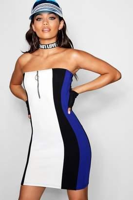 boohoo O Ring Mini Dress