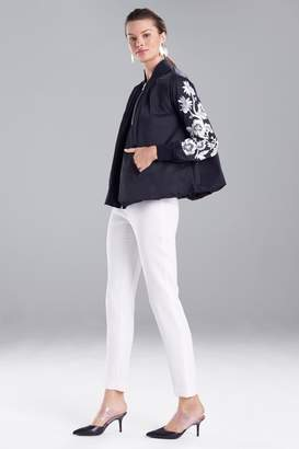 Natori Tech Nylon Bomber Jacket