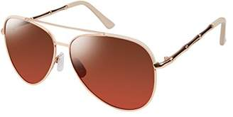 Elie Tahari Women's Th646 Rgdnd Aviator Sunglasses