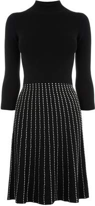 Next Womens Oasis Black Dolly Line And Dot Dress