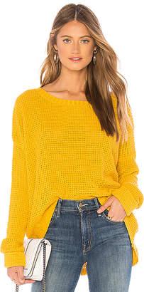 MinkPink Waffle Sweater
