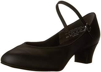 Capezio Women's Suede Sole Jr. Footlight Character Shoe