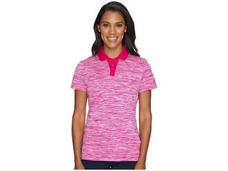Puma Tuck Stitch Polo Women's Short Sleeve Pullover