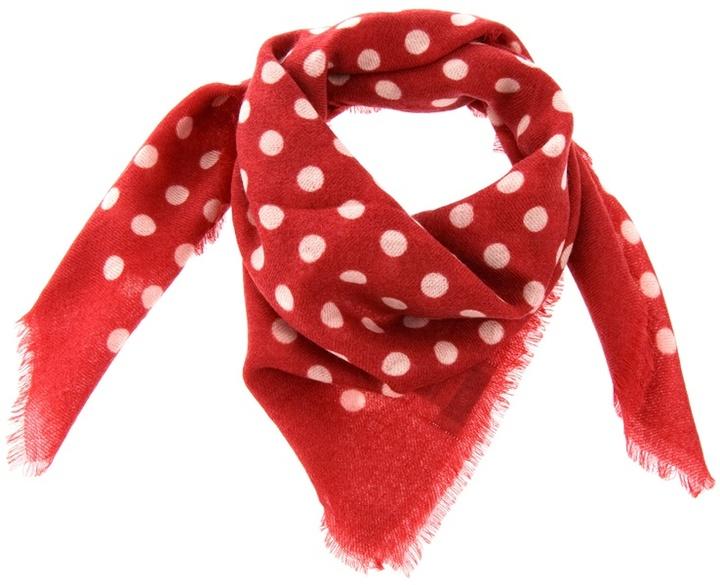 EPICE - Polka dot wool scarf