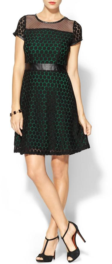 Juicy Couture C.Luce Lace Overlay Dress