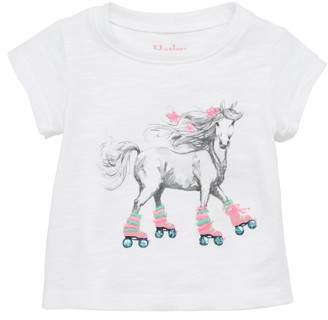 Hatley Roller Skating Horse Graphic Tee