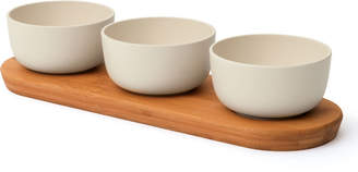 Berghoff Bamboo Serving Bowl Set w/ Tray