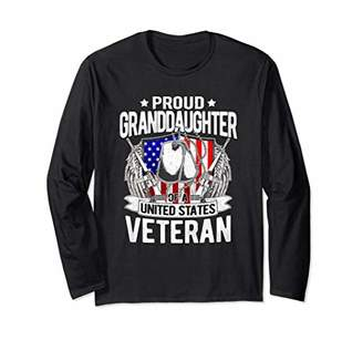 Proud Granddaughter Of United States Veteran Shirt Gifts