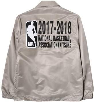 MAISON KITSUNÉ NBA COACH JACKET