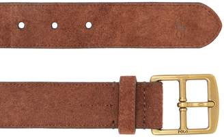 Polo Ralph Lauren Suede Leather Belt