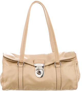 pradaPrada Tessuto & Vitello Easy Bag