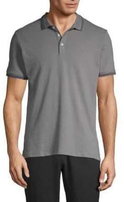 Emporio Armani Stretch Short-Sleeve Polo