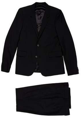 Alexander McQueen Wool & Mohair Two-Piece Suit