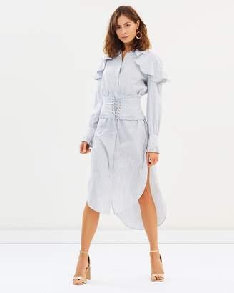 Elliatt Tone Shirt Dress With Belt