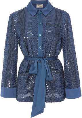 Temperley London Platinum Shirt