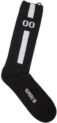 "Numero 00 Cotton Blend Socks 1220"""""