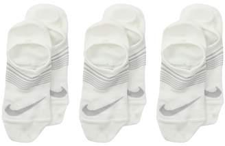 Nike Performance Lightweight Footie Socks 3-Pair Pack Kids Shoes