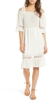 Women's Moon River Tie Strap Gauze Dress $90 thestylecure.com