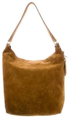 Saint Laurent Suede Hobo Bag