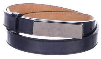 Giorgio Armani Leather Waist Belt