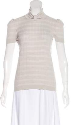 Giorgio Armani Knit Short Sleeve Top