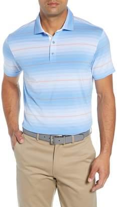 Bobby Jones R18 Tech Diesel Stripe Golf Polo