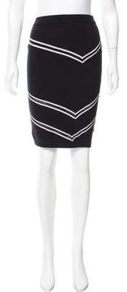 Tanya Taylor Patterned Knee-Length Skirt