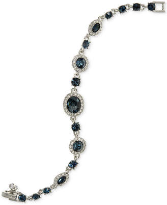 Givenchy Faceted Stone and Pave Link Bracelet