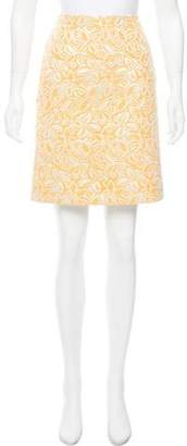 Barneys New York Barney's New York Floral Jacquard Skirt