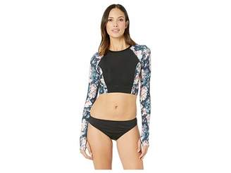 TYR Maya Long Sleeve Crop Rashguard