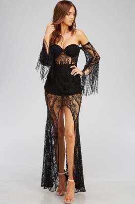 Blithe Black Lace Dress