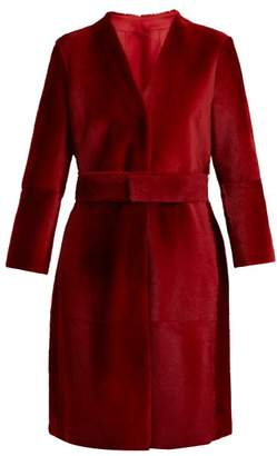 Max Mara Tarso Coat - Womens - Red