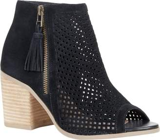 Sole Society Peep Toe Booties - Dallas
