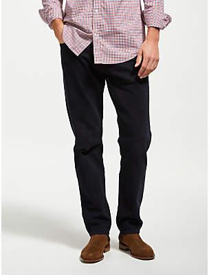 Gant Soft Twill Regular Straight Jeans, Navy