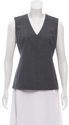 Reed Krakoff Sleeveless Wool Blouse