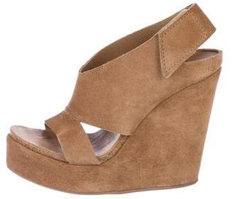 4a91f28b2e86 Pedro Garcia Covered Wedge Women s Sandals - ShopStyle
